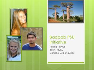 Baobab PSU Initiative Baobab PSU Initiative
