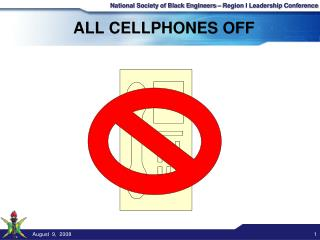 ALL CELLPHONES OFF