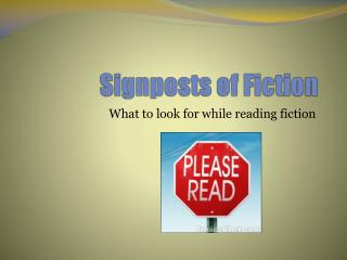 Signposts of Fiction