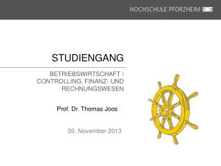STUDIENGANG