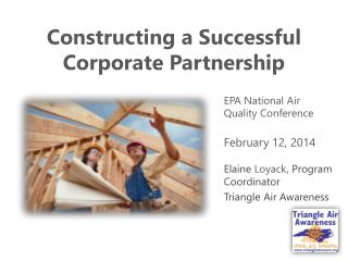 Constructing a Successful Corporate Partnership