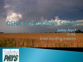OSHA Consultation Services