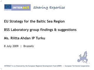 Laboratory Group on EU Strategy for Baltic Sea Region