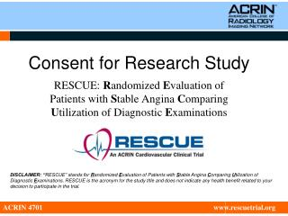 Consent for Research Study