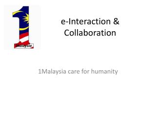 e-Interaction & Collaboration
