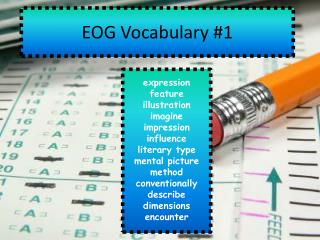 EOG Vocabulary #1
