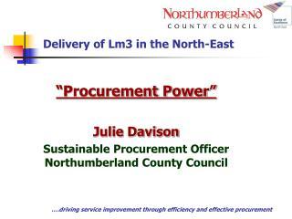.driving service improvement through efficiency and effective procurement