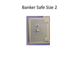 Banker Safe Size 2