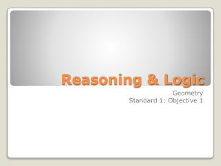 Reasoning & Logic