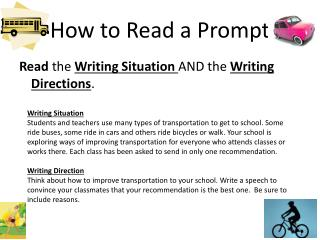How to Read a Prompt