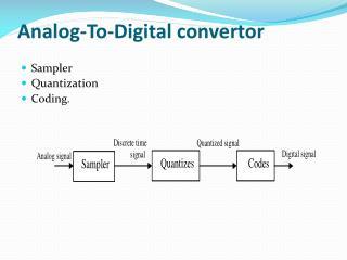 Analog-To-Digital convertor