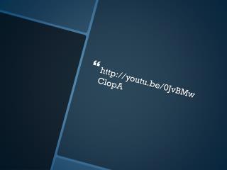 youtu.be/0JvBMwClopA