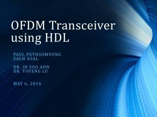 OFDM    .