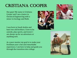 Cristiana Cooper