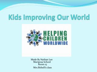 Kids Improving Our World