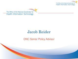Jacob Reider