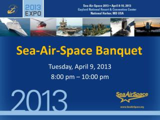 Sea-Air-Space Banquet