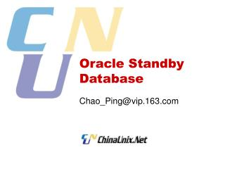 Oracle Standby Database
