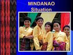 MINDANAO Situation