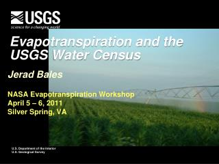 Evapotranspiration and the  USGS Water Census