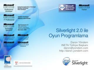 Silverlight  2.0 ile Oyun Programlama