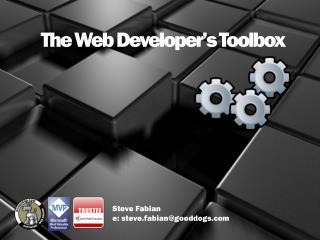 The Web Developer�s Toolbox