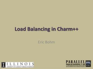 Load Balancing in Charm++