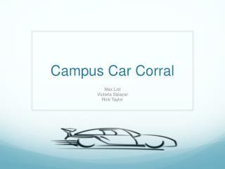 Campus Car Corral