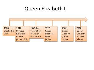 Queen  Elizabeth II �