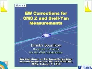 EW Corrections for CMS  Z and Drell-Yan M easurements