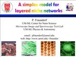 P. Fraundorf UM-StL Center for Nano Science Microscope Image and Spectroscopy Tech Lab UM-StL Physics  Astronomy  email: