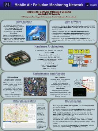 Institute for Software Integrated  Systems Vanderbilt  University