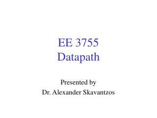 EE 3755 Datapath
