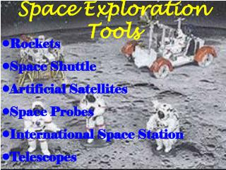 Space Exploration Tools