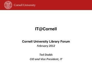 IT@Cornell