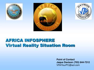 AFRICA INFOSPHERE  Virtual Reality Situation Room