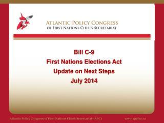 Atlantic Policy Congress of First Nations Chiefs Secretariat  (APC)apcfnc