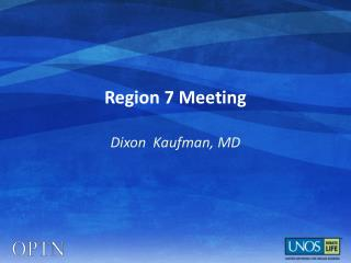 Region  7  Meeting