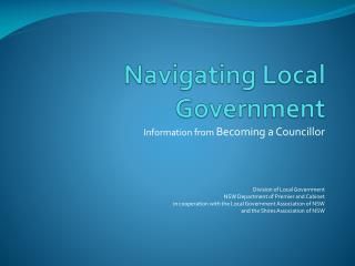 Navigating Local Government