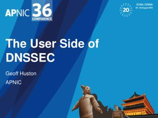 The User Side of DNSSEC