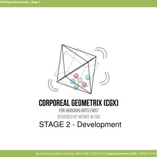 01| Design Development – Stage 2