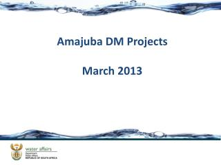 Amajuba DM Projects March 2013