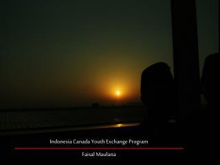 Indonesia Canada Youth Exchange Program