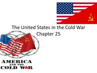 The United States in the Cold War Chapter 25