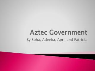 Aztec Government
