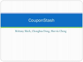 CouponStash