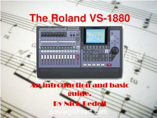 The Roland VS-1880
