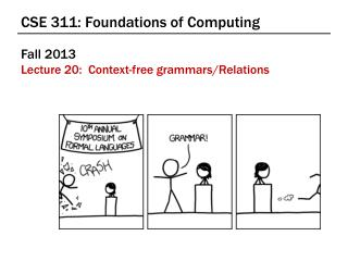 CSE 311: Foundations of Computing