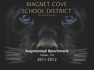 "Magnet Cove  School District ""Panther Pride Runs Deep"""