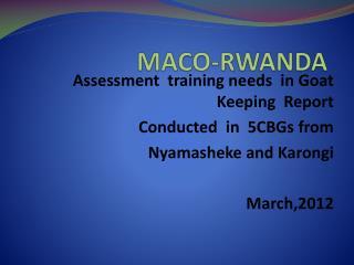 MACO-RWANDA
